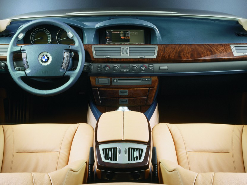 BMW 7 Armored interior