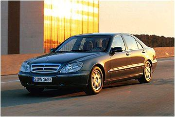 Armoured Mercedes S Class
